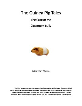 Two Guinea Pigs help with the Bully problem at school