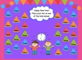 Two Happy New Year Attendance Files for SMARTBoard