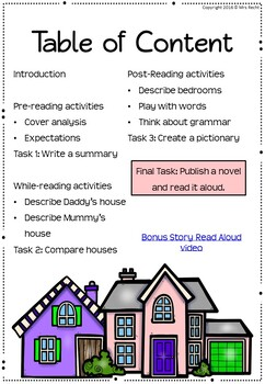 Two Homes - Literature Unit