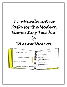 Two Hundred One Tasks for the Modern Elementary Teacher