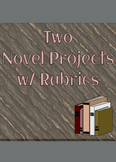 Two Independent Reading Novel Projects