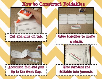 Two Interactive Foldables for Multiplication with Lessons 3.OA.A.1