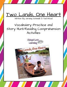 Two Lands, One Heart Vocabulary and Comprehension Pack