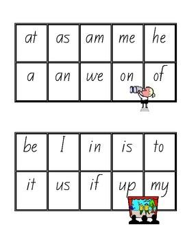 Two Letter Bingo