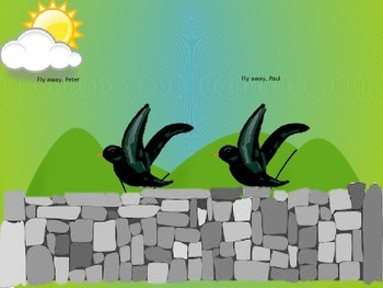 Two Little Blackbirds Animated PowerPoint
