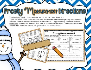 Two Measurement Centers with Extra Practice Pages