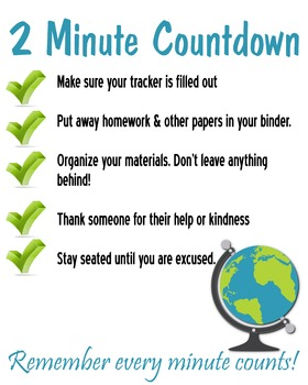 Two Minute Countdown Poster