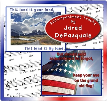 Patriotic Songs for Recorder: This Land, Grand Old Flag Levels 2-3