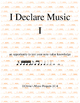 Two Music Games: I Declare Music (I) and Old Music (Matching)
