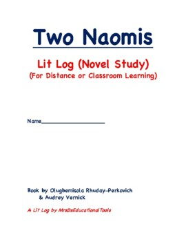 Two Naomis Lit Log