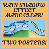 Two Orographic / Rain Shadow Effect Posters - Easy-to-Prin