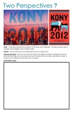 Two Perspective of Kony 2012