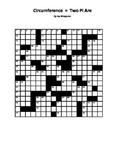 Two Pi Are, A Pi Day Crossword Challenge