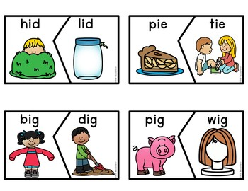 Rhyming Activity Puzzles Center