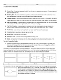 Two-Point Linear Perspective Handout Step by Step with Tes