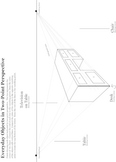 Two-Point Perspective Everyday Objects Worksheet