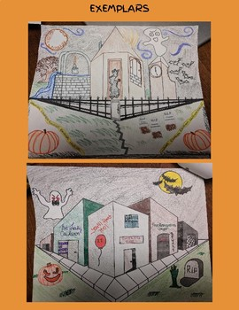 Two Point Perspective Halloween Edition!