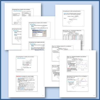Quantitative Variables & Scatterplots: Linear Models & Correlation (Common Core)