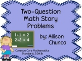 Two-Question Math Story Problems