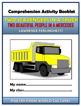 Two Scavengers in a Truck - Comprehension Activities Booklet!