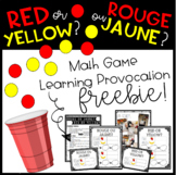 Two-Sided Counter Math Game Freebie