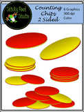Two Sided Counting Chips Clip Art For Math