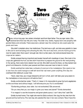 Two Sisters: A Folk Tale