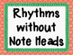 Two Sixteenth Notes and One Eighth Note (tika-ti) Flashcards