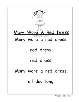 Two Songs About RED ! Practice Reading While Singing