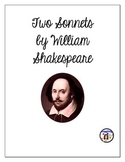 Two Sonnets by William Shakespeare