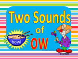 Two Sound of OW Power Point & Printables