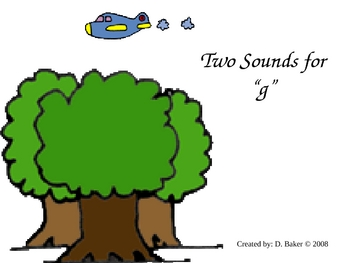Two Sounds for G Power Point Presentation