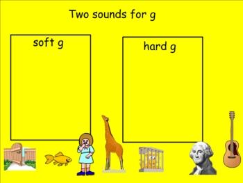 Two Sounds for G Smartboard Practice