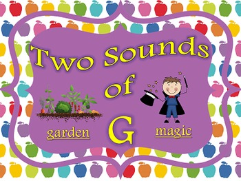 Two Sounds of G PowerPoint and Printables