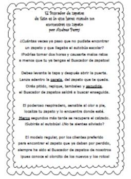 Two Spanish Poems-Buscador de zapatos y Largo viaje