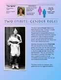 Two Spirits: Gender Roles; Native American Art