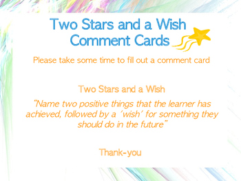 Two Stars & A Wish Display Sign