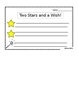 Two Stars and a Wish