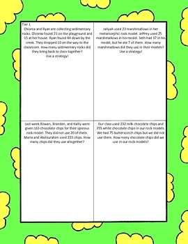 Two Step Addition and Subtraction Word Problems