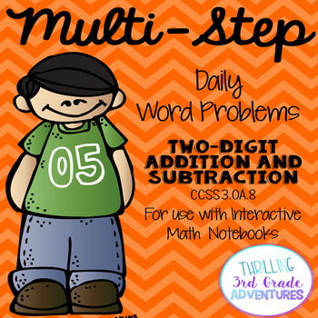 Two-Step Addition and Subtraction Word Problems