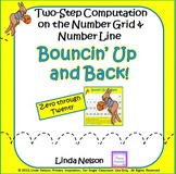 Two-Step Computation on the Number Line and Number Grid: Bouncin' Up and Back