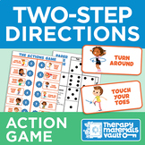 Two-Step Directions: Action Game