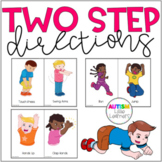 Autism Speech Therapy Two Step Directions