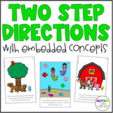 Two Step Directions with Embedded Concepts