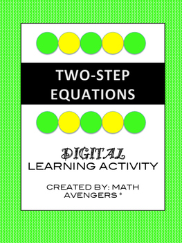 Two-Step Equation Digital Activity