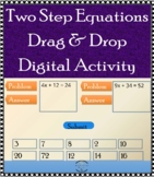 Two Step Equation - Drag & Drop Digital Activity - Google