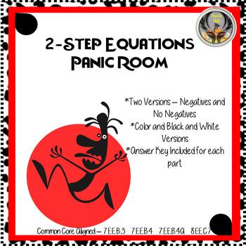 Two-Step Equations Panic! Room