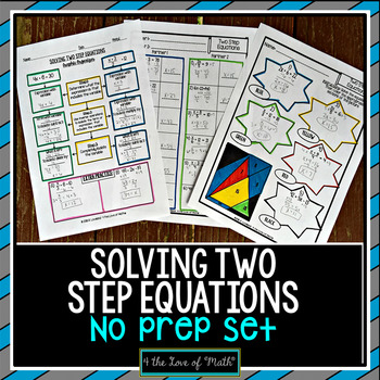 Two-step Equation Graphic Organizer Teaching Resources | Teachers ...