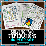 Two Step Equation Print and Go