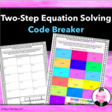Two-Step Equation Solving : Code Breaker